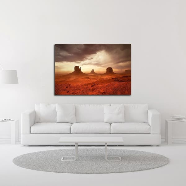 Monsoon Sandstorm By John Gavrilis Print On Canvas Ready To Hang Overstock 27587013