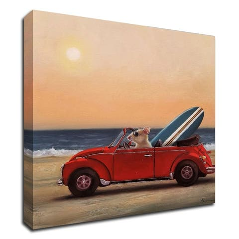 Beach Bound by Lucia Heffernan, Print on Canvas, Ready to Hang