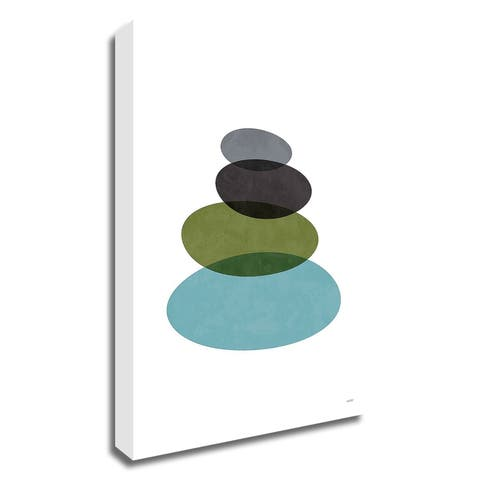 Modern Stones by Tomas Design, Print on Canvas, Ready to Hang