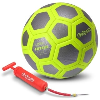 GoSports ELITE Futsal Ball - Great for Indoor or Outdoor FUTSAL Games or Practice - Includes Pump