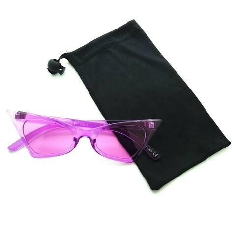 Retro 1960s High Tip Cat Eye Sunglasses P2455