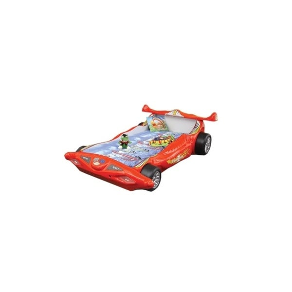 Racing Car Red Bed