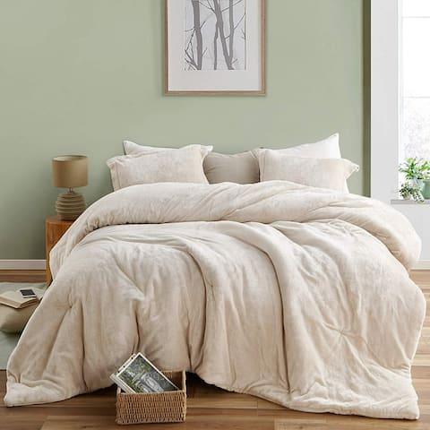The Original Plush Coma Inducer Almond Milk Oversized Comforter