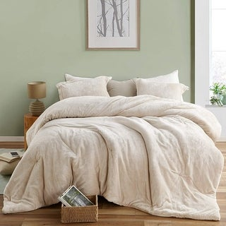 Link to The Original Plush Coma Inducer Almond Milk Oversized Comforter Similar Items in Comforter Sets