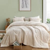 The Original Plush Coma Inducer Almond Milk Oversized Comforter