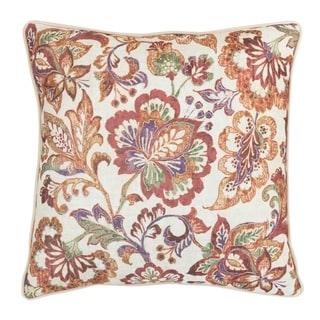 Porch & Den Barberry Plaid 18-inch Square Pillow