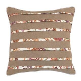 Carson Carrington Vadje 16-inch Pleated Fashion Pillow