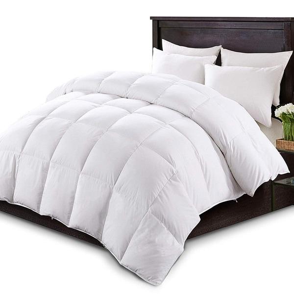 Kasentex White Down Comforter Duvet Insert With Tabs by Generic
