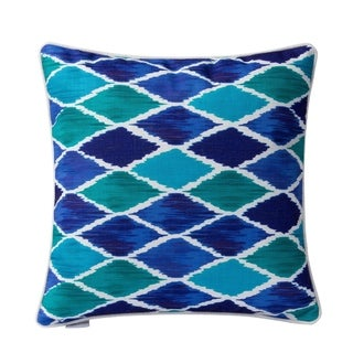 Blue Harlequin Throw Pillow (Case Only)