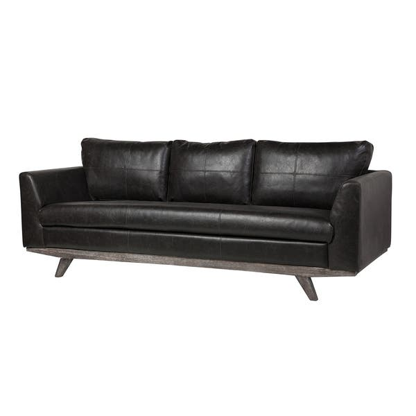 Incredible Shop Rebel 3 Seater Leather Sofa In Distressed Biker Black Caraccident5 Cool Chair Designs And Ideas Caraccident5Info