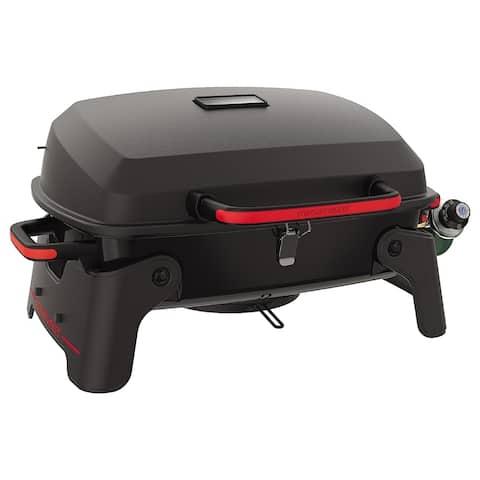 Megamaster 1 Burner Tabletop, Black with red
