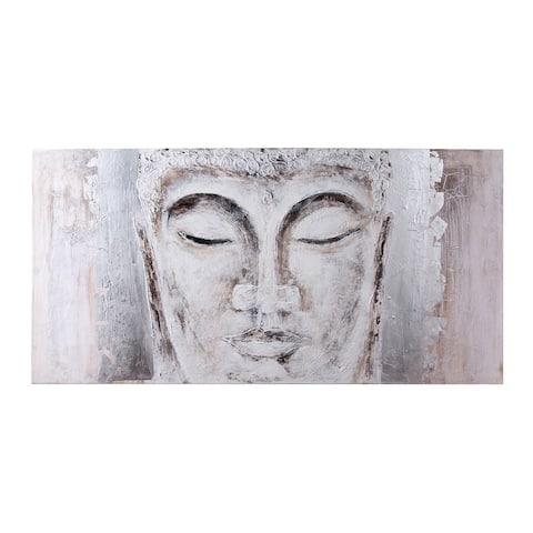 Zen Garden Buddha Painting on Canvas
