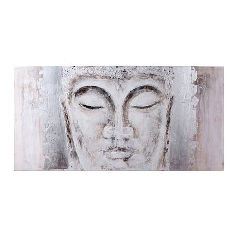 Zen Garden Buddha Painting on Canvas