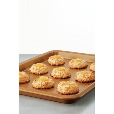 Ayesha Bakeware 3-Piece Nonstick Cookie Pan Set, Copper