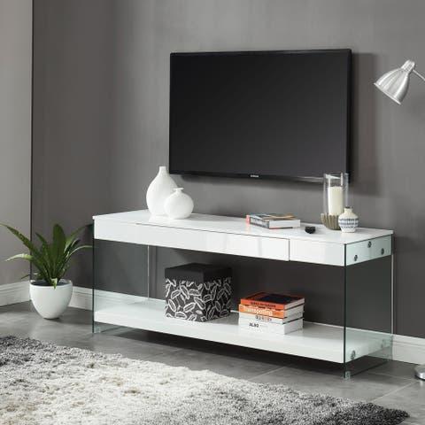 Strick & Bolton Takamura 70-inch 1-shelf 1-drawer TV Console
