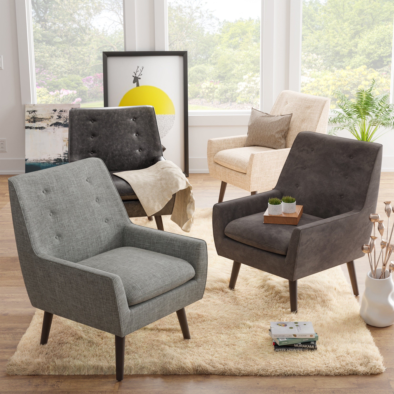 Carson Carrington Valla Mid Century Modern Accent Chair