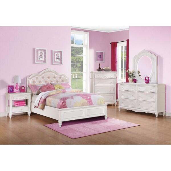 Shop Austin White 5-piece Bedroom Set - On Sale - Free Shipping ...