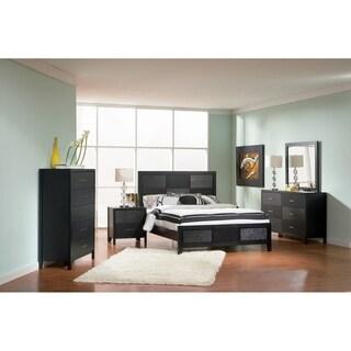 Laurinda Transitional Black 5-piece Bedroom Set