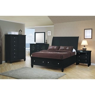 Rocco 4-piece Storage Bedroom Set