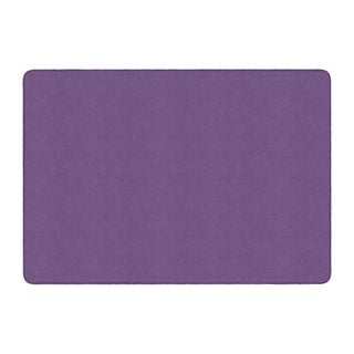 Flagship Carpet Americolors School Classroom Rectangular Rug, Pretty Purple - 6' x 9' - 6' x 9'
