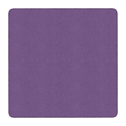 Flagship Carpet Americolors School Classroom Square Rug, Pretty Purple - 6' x 6' - N/A