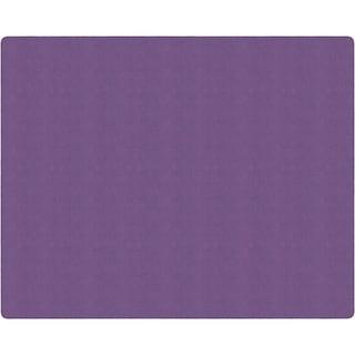 Flagship Carpet Amerisoft School Classroom Rectangular Rug, Purple - 12' x 15' - 12' x 15'