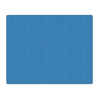 Flagship Carpet Americolors School Classroom Rectangular Rug, Blue Bird - 12' x 15' - 12' x 15'