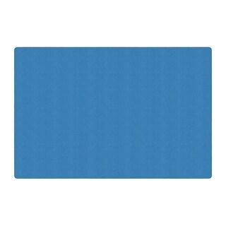 Flagship Carpet Americolors School Classroom Rectangular Rug, Blue Bird - 12' x 18' - 12' x 18'