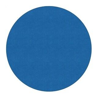 Flagship Carpet 6' Round Americolors School Classroom Rug - Royal Blue - 6' Round