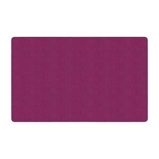 """Flagship Carpet Americolors School Classroom Rectangular Rug, Cranberry - 7'6"""" x 12' - 7'6"""" x 12'"""