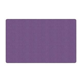 "Flagship Carpet Americolors School Classroom Rectangular Rug, Pretty Purple - 7'6"" x 12' - 7'6"" x 12'"