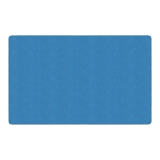 "Flagship Carpet Ameristrong School Classroom Rectangular Rug, Blue Bird - 7'6"" x 12' - 7'6"" x 12'"