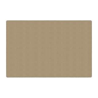 Flagship Carpet Americolors School Classroom Rectangular Rug, Almond - 12' x 18' - 12' x 18'
