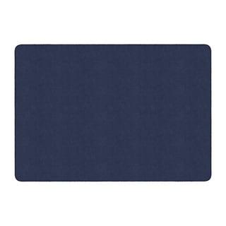 Flagship Carpet Americolors School Classroom Rectangular Rug, Navy - 6' x 9' - 6' x 9'