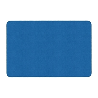 Flagship Carpet Americolors School Classroom Rectangular Rug, Royal Blue - 4' x 6' - 4' x 6'