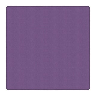 Flagship Carpet Americolors School Classroom Square Rug, Pretty Purple - 12'x12' - 12' x 12' Square