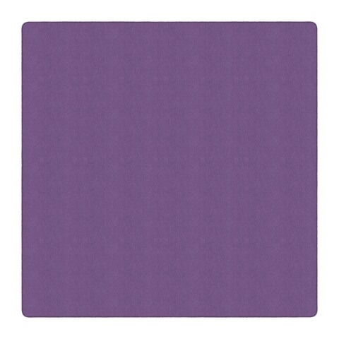 Flagship Carpet Americolors School Classroom Pretty Purple Square Rug - 12 'x 12'