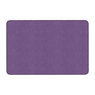 Flagship Carpet Americolors School Classroom Rectangular Rug, Pretty Purple - 4' x 6' - 4' x 6'