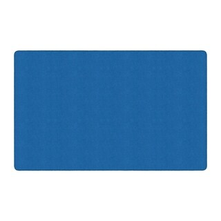 "Flagship Carpet Americolors School Classroom Rectangular Rug, Royal Blue - 7'6"" x 12' - 7'6"" x 12'"
