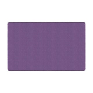"Flagship Carpet Amerisoft School Classroom Rectangular Rug, Purple - 7'6"" x 12' - 7'6"" x 12'"