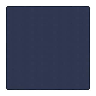 Flagship Carpet 12' Square Amerisoft School Classroom Rug - Navy - 12' Square