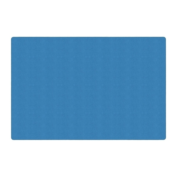 Flagship Carpet Ameristrong School Classroom Rectangular Rug, Blue Bird - 12' x 18' - 12' x 18'