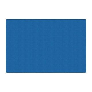 Flagship Carpet Ameristrong School Classroom Rectangular Rug, Royal Blue - 12' x 18' - 12' x 18'