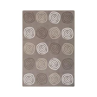 "Joy Carpets Simply Swirls Nylon School Classroom Rectangular Rug, Neutral - 5'4"" x 7'8"" - 5'4"" x 7'8"""