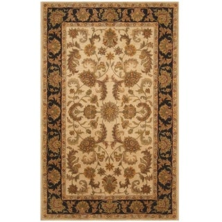 Handmade One-of-a-Kind Mahal Wool Rug (India) - 5' x 8'