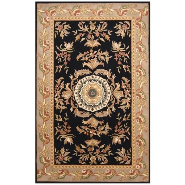 Tufted Indo Persian Wool Area Rug Ebth: Shop Handmade Herat Oriental Indo Hand-tufted Aubusson