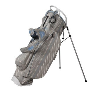 Link to OUUL 2.7LB super light stand bag Gray/Lt. Blue Similar Items in Golf Bags & Carts