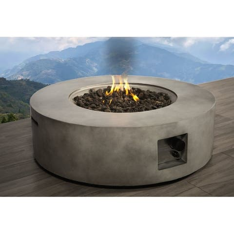 Concrete Propane/ Natural Gas Fire Pit Table