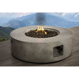 Concrete Propane/ Natural Gas Fire Pit Table