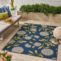 Christopher Knight Home Viola Outdoor Floral Area Rug